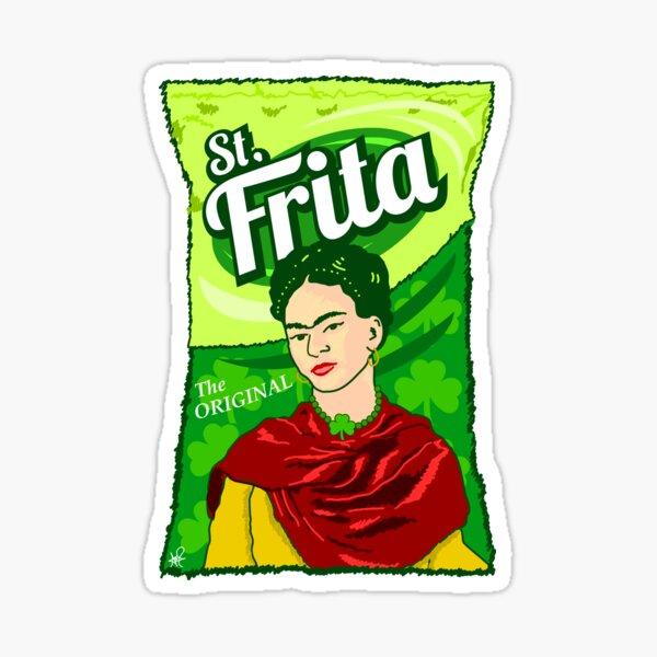 St. Frita Sticker