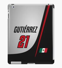 F1 2016 - #21 Gutierrez [launch version] iPad Case/Skin