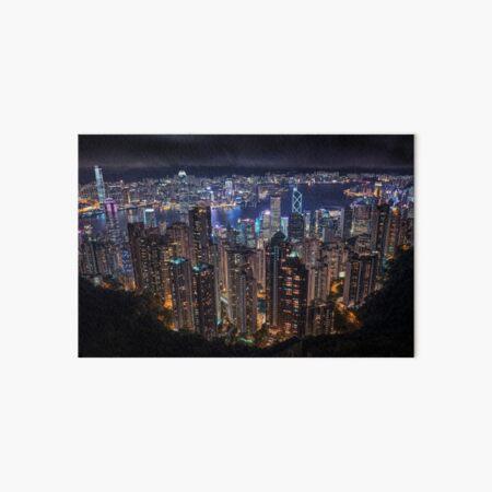 The Peak, Hong Kong Art Board Print