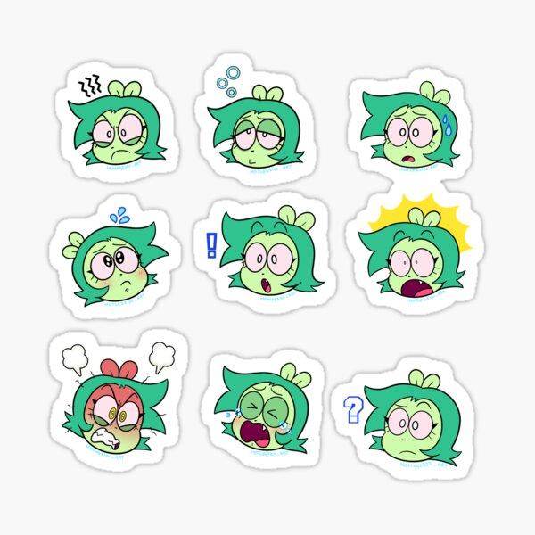 Fink emoticons  Sticker