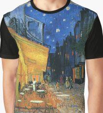 Vincent Van Gogh -Cafe Terrace at Night .Van Gogh -Cafe Terrace at Night Graphic T-Shirt