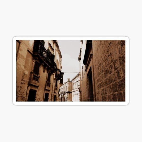 Dark Alley Silent City Sticker