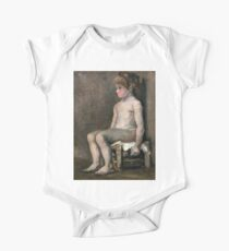 1886-Vincent van Gogh-Nude girl, seated Kids Clothes