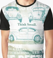 NEW Classic VW Beetle T-Shirt Graphic T-Shirt