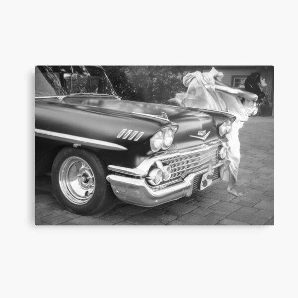Vintage Car Beauty Metal Print