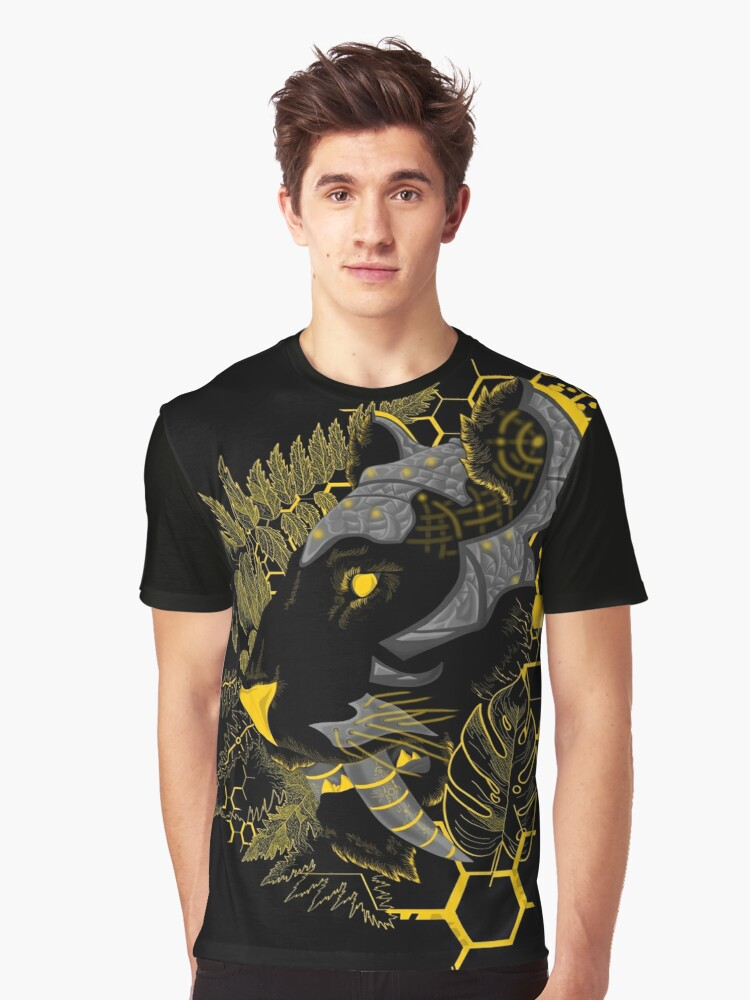 Cybertooth Graphic T-Shirt Front