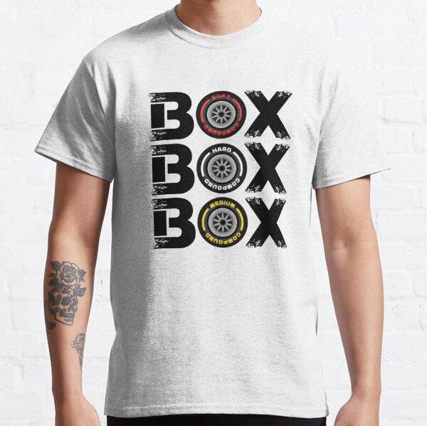 Box Box Box F1 Tyre Compound V2 Design Classic T-Shirt