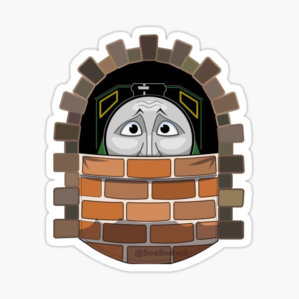 Henry in the Tunnel Pocket Pal Sticker
