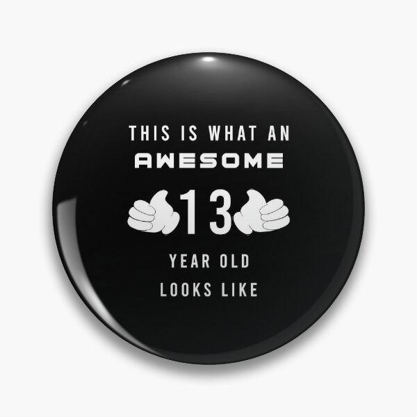 its my 13th  birthday,happy birthday gift Pin