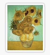 Vincent Van Gogh - Sunflowers  Sticker