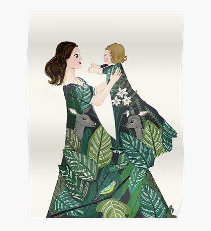 Nature of motherhood Poster