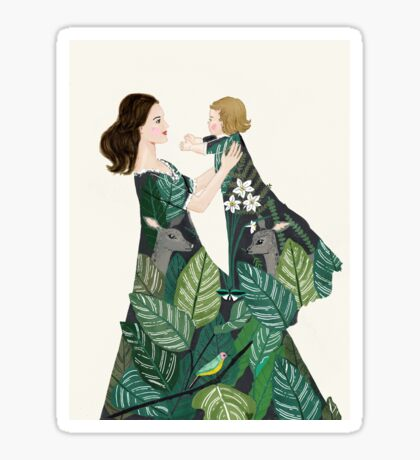 Nature of motherhood Sticker