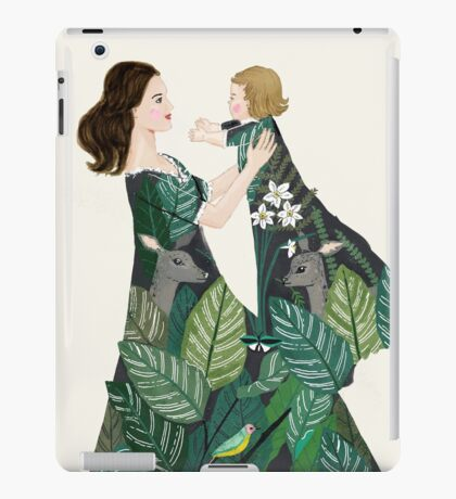 Nature of motherhood iPad Case/Skin
