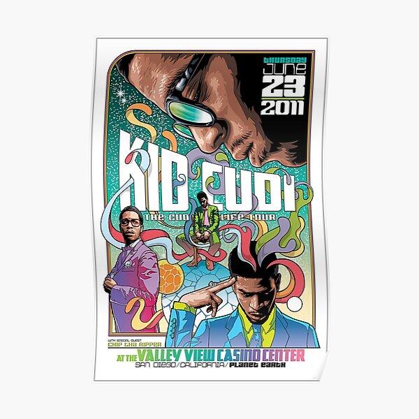 The Cudi Tour Anime Ball Poster