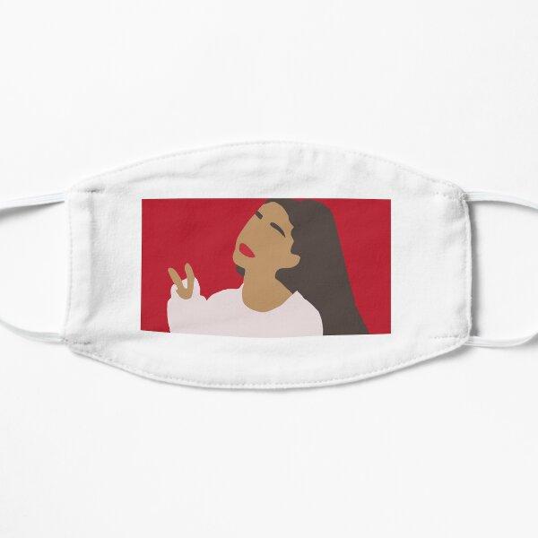 Dessin animé Ariana Grande oeuvre Masque sans plis