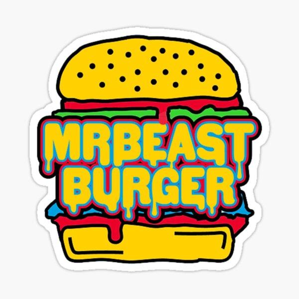 Mr Beast Burger Sticker