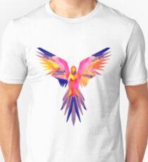 Low-Poly Tropical Bird T-Shirt