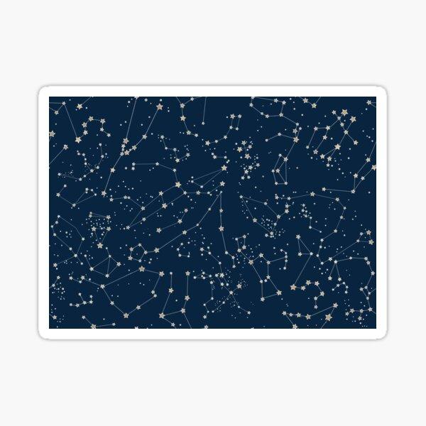 Navy Constellations Sticker
