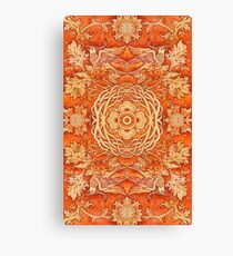 - Golden pattern - Canvas Print