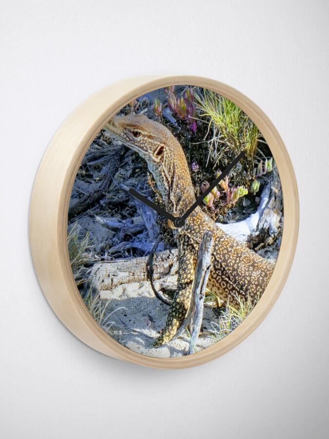 Alternate view of Perentie Australian Lizard Clock