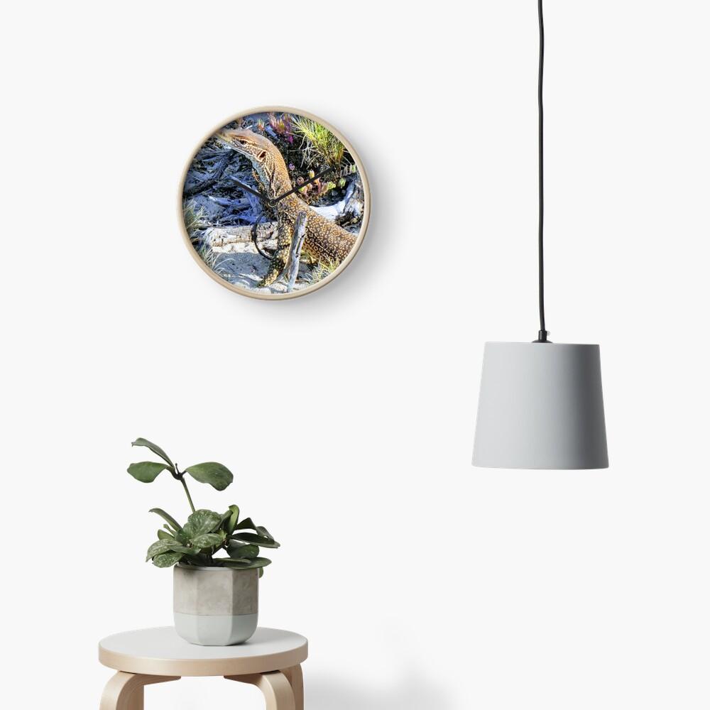 Perentie Australian Lizard Clock