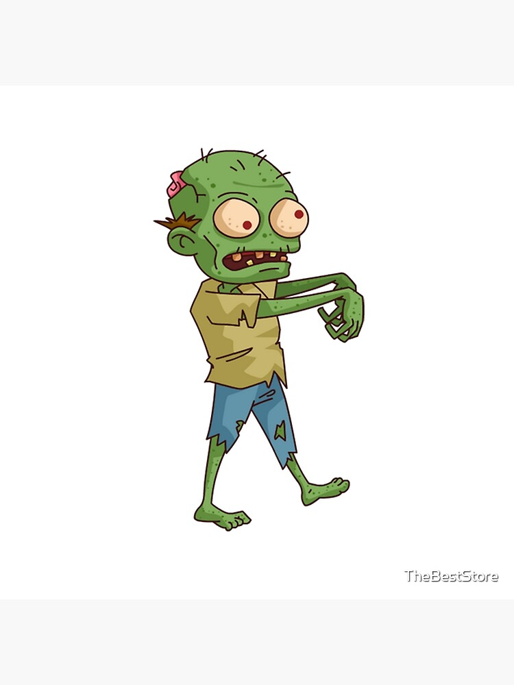 Zombie Cartoon Greeting Card By Thebeststore Redbubble