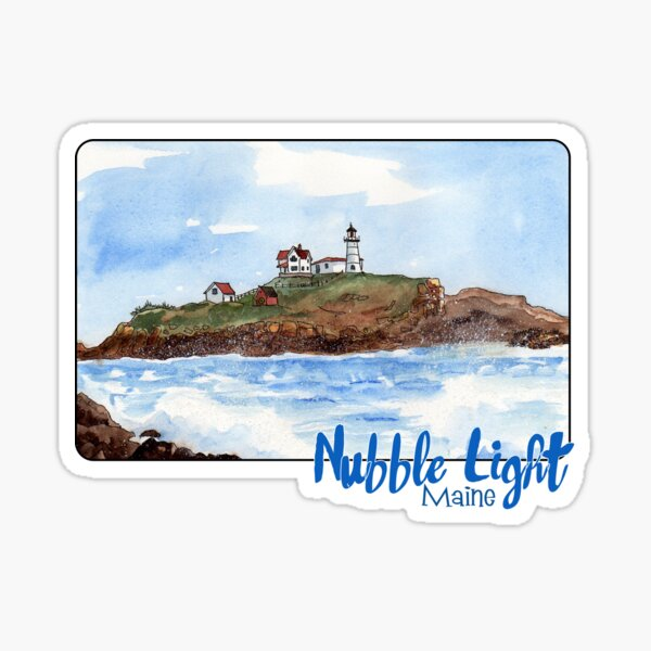 Nubble Light, Maine Sticker