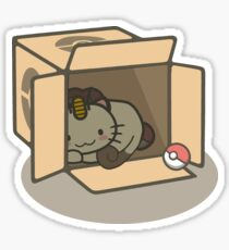 Meowth's New Home Sticker