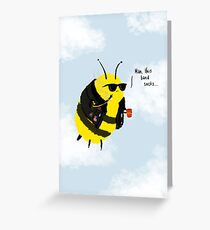 Festival Bees Greeting Card