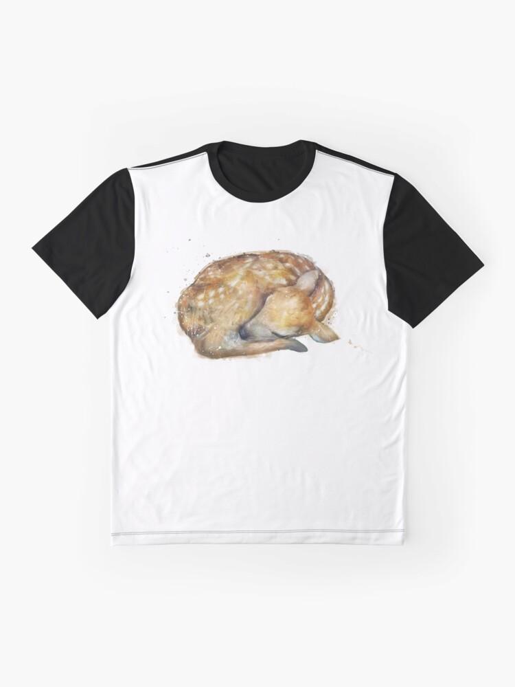 Alternative Ansicht von Schlafendes Kitz Grafik T-Shirt