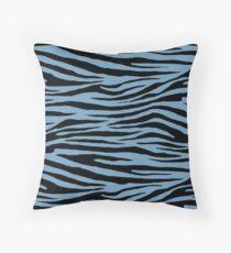 0640 Air Superiority Blue Tiger Throw Pillow