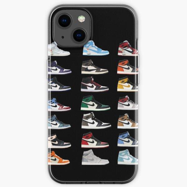 Pantalla Iphone Case e Cover Jordan 1 Funda blanda para iPhone