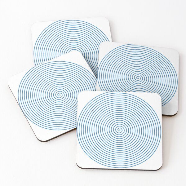 spiral  Coasters (Set of 4)