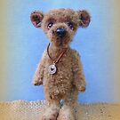Handmade bears from Teddy Bear Orphans - Manfred by Penny Bonser