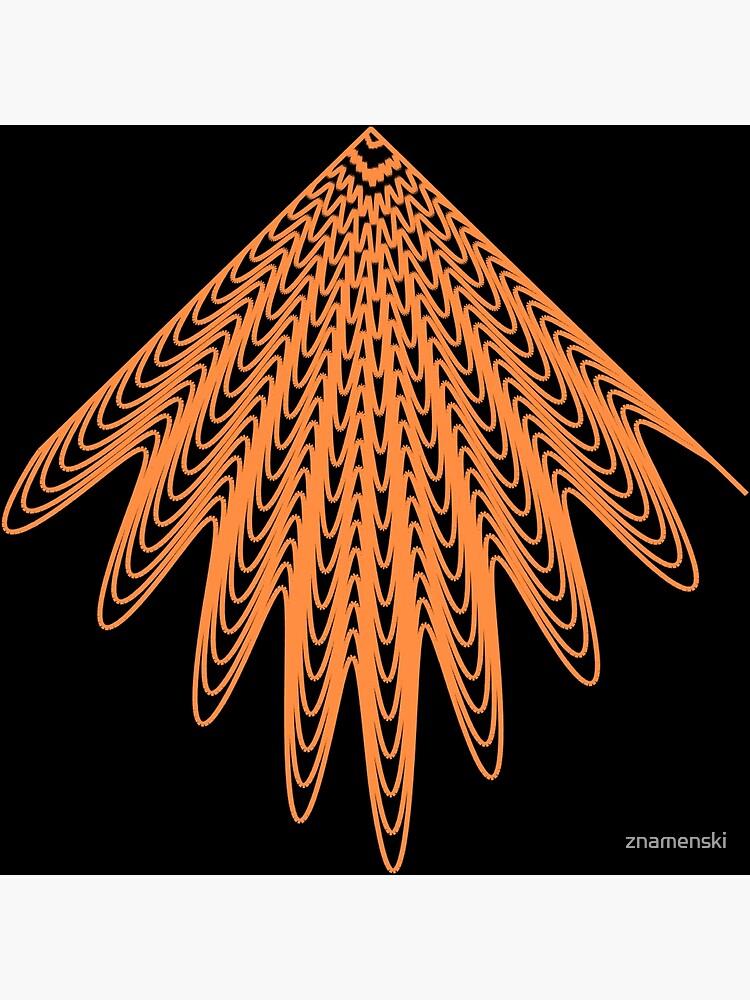 Trippy Decorative Pattern by znamenski