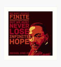 Martin Luther King, Jr. Art Print