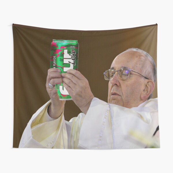 The Pope Four Loko Tapestry