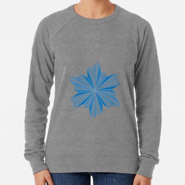 Trippy Decorative Pattern Lightweight Sweatshirt