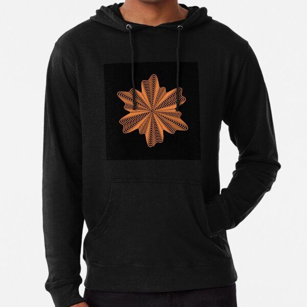 Trippy Decorative Pattern Lightweight Hoodie