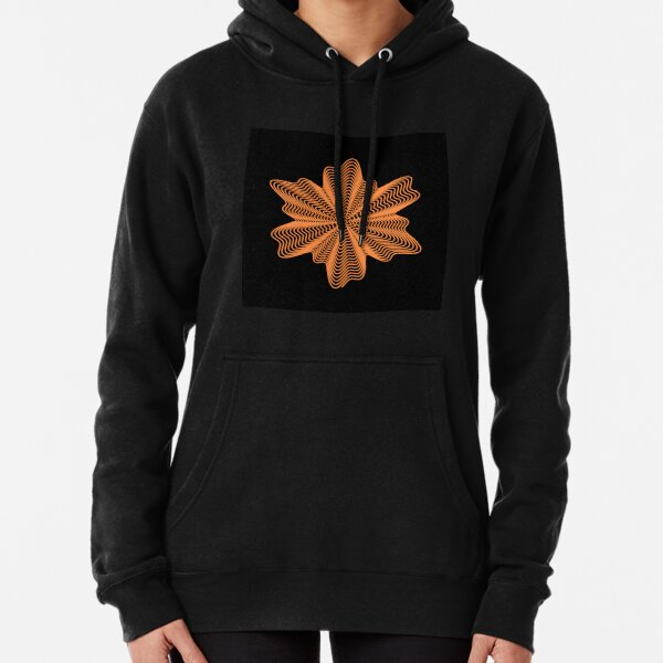 Trippy Decorative Pattern Pullover Hoodie