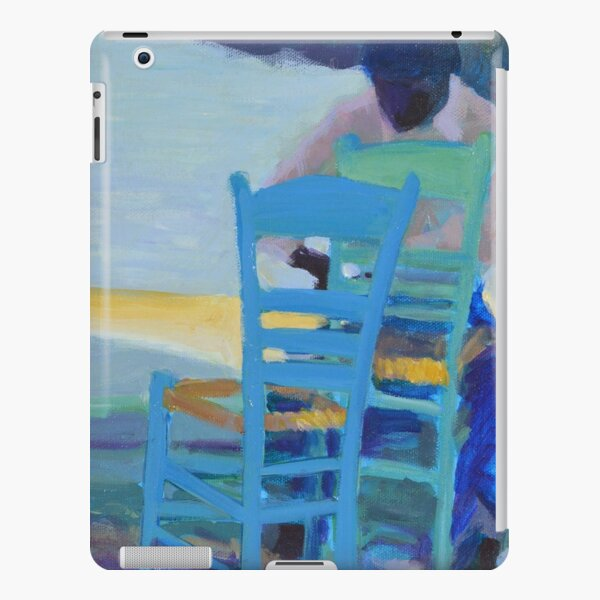 Man caning a chair iPad Snap Case