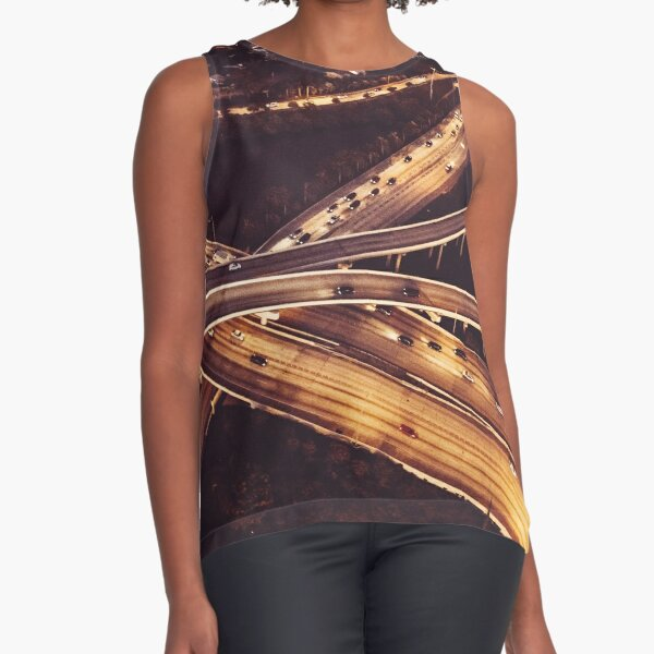 highway aerial view Sleeveless Top