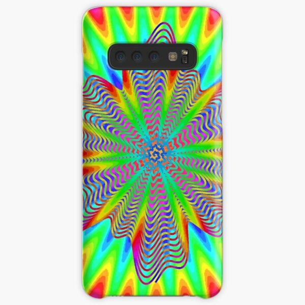 Trippy Decorative Pattern Samsung Galaxy Snap Case