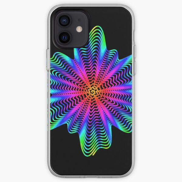 Trippy Decorative Pattern iPhone Soft Case