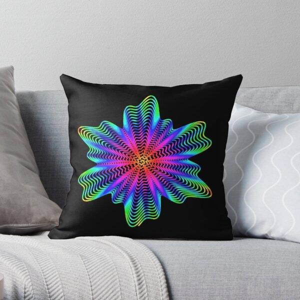 Trippy Decorative Pattern Throw Pillow