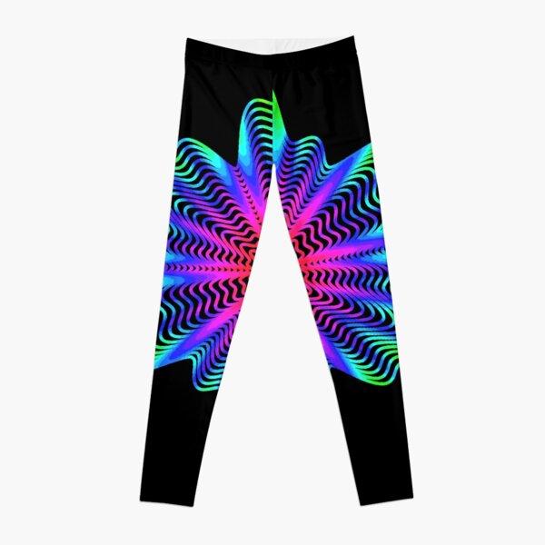 Trippy Decorative Pattern Leggings
