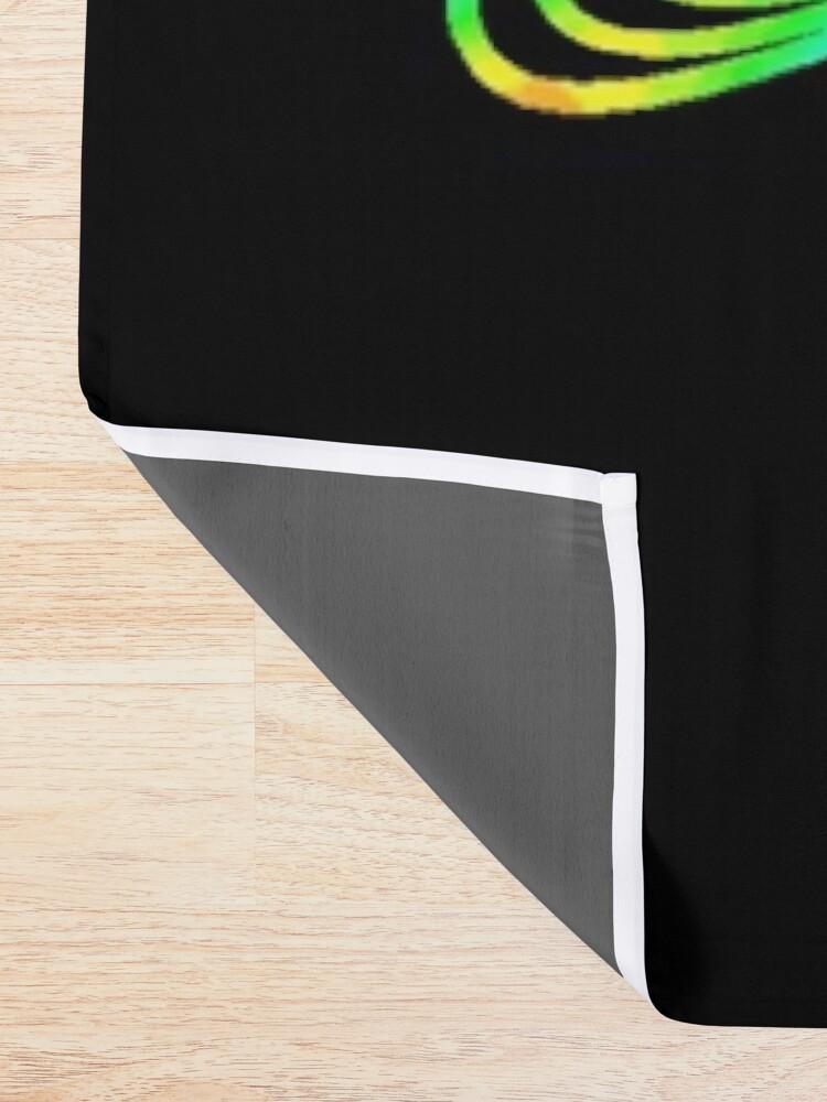 Alternate view of Trippy Decorative Pattern Shower Curtain