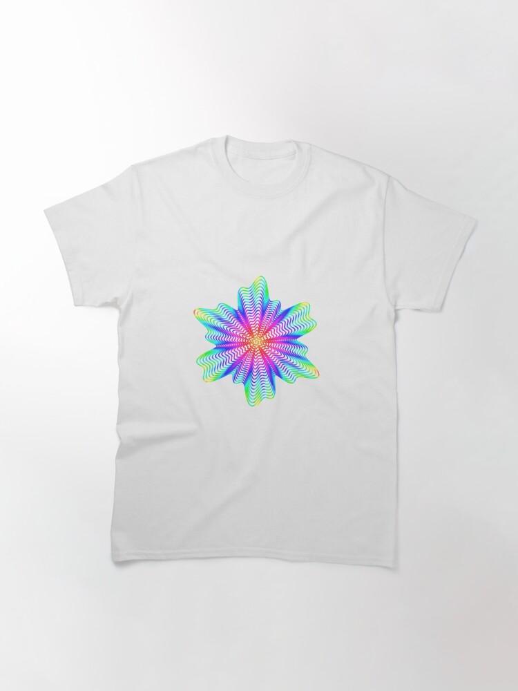 Alternate view of Trippy Decorative Pattern Classic T-Shirt