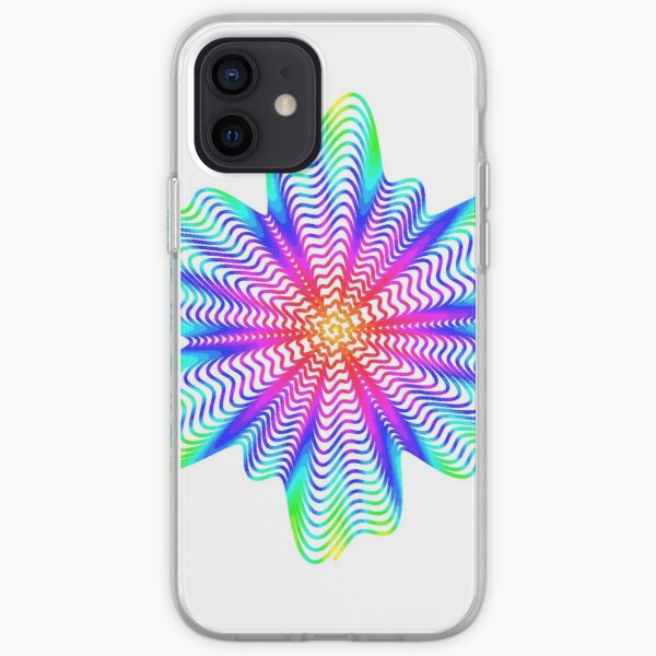 Trippy Decorative Pattern iPhone Soft Case