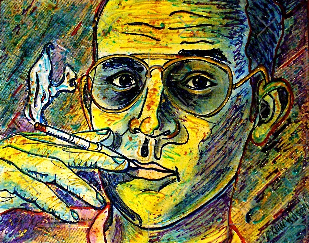 Turn Pro, Hunter S. Thompson tribute by DReneeWilson